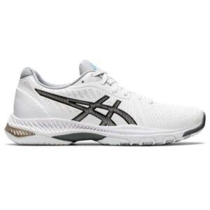 Asics Netburner Ballistic FF 2 - Womens Netball Shoes - White/Black