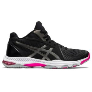 Asics Netburner Ballistic FF MT 2 - Womens Netball Shoes - Black/Gunmetal