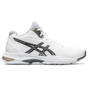 Asics Netburner Ballistic FF MT 2 - Womens Netball Shoes - White/Black