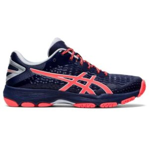 Asics Netburner Professional FF 2 - Womens Netball Shoes - Peacoat/Flash Coral