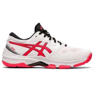 Asics Gel Netburner 20 - Womens Netball Shoes - White/Diva Pink