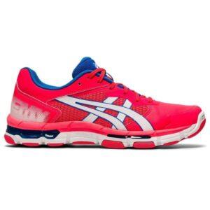 Asics Gel Netburner Academy 8 - Womens Netball Shoes - Diva Pink/White