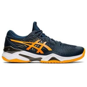Asics Court FF 2 - Mens Tennis Shoes - French Blue/Amber