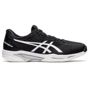 Asics Gel Solution Speed FF 2 - Mens Tennis Shoes - Black/White