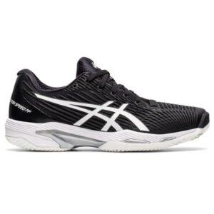 Asics Gel Solution Speed FF 2 -Womens Tennis Shoes - Black/White