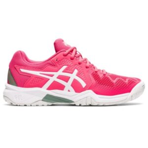 Asics Gel Resolution 8 GS - Kids Tennis Shoes - Pink Cameo/White