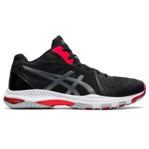 Asics Netburner Ballistic FF MT 2 - Mens Volleyball Indoor Court Shoes - Black/Carrier Grey