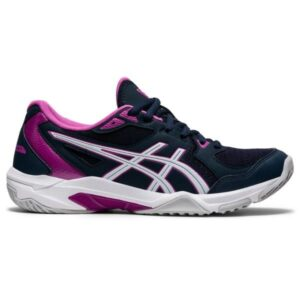 Asics Gel Rocket 10 - Womens Volleyball Indoor Court Shoes - French Blue/White