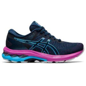 Asics Gel Kayano 27 GS - Kids Running Shoes - French Blue/Digital Aqua