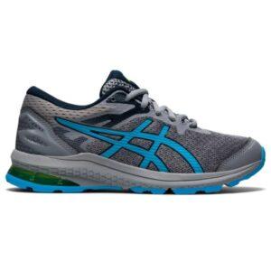 Asics GT-1000 10 GS - Kids Running Shoes - Sheet Rock/Hazard Green/Blue