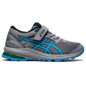 Asics GT-1000 10 PS - Kids Running Shoes - Sheet Rock/Hazard Green