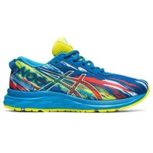 Asics Gel Noosa Tri 13 GS - Kids Running Shoes - Reborn Blue/Sour Yuzu