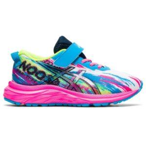 Asics Gel Noosa Tri 13 PS - Kids Running Shoes - Digital Aqua/Hot Pink
