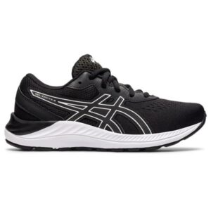 Asics Gel Excite 8 GS - Kids Running Shoes - Black/White