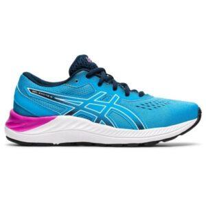 Asics Gel Excite 8 GS - Kids Running Shoes - Digital Aqua/White