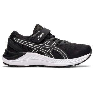 Asics Pre Excite 8 PS - Kids Running Shoes - Black/White