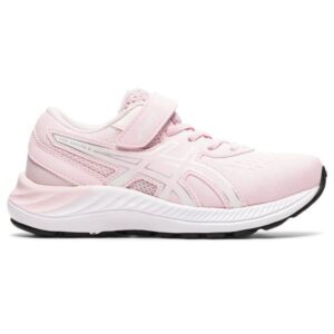 Asics Pre Excite 8 PS - Kids Running Shoes - Pink Salt/Pure Silver