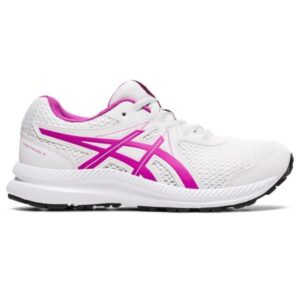 Asics Contend 7 GS - Kids Running Shoes - White/Digital Grape