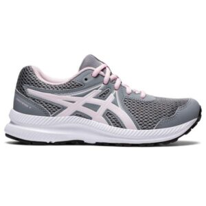 Asics Contend 7 GS - Kids Running Shoes - Sheet Rock/Pink Salt