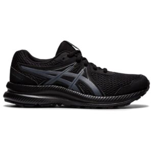 Asics Contend 7 GS - Kids Running Shoes - Triple Black/Carrier Grey