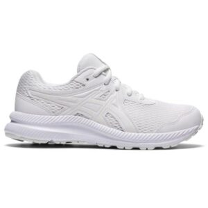 Asics Contend 7 GS - Kids Running Shoes - Triple White