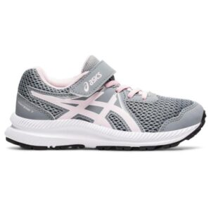 Asics Contend 7 PS - Kids Running Shoes - Sheet Rock/Pink Salt