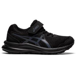 Asics Contend 7 PS - Kids Running Shoes - Triple Black/Carrier Grey