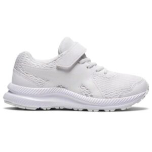 Asics Contend 7 PS - Kids Running Shoes - Triple White