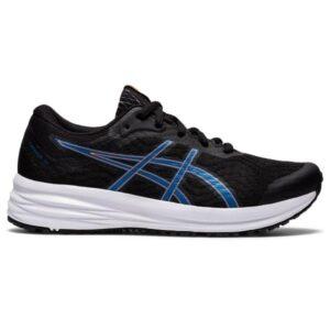 Asics Patriot 12 GS - Kids Running Shoes - Black/Reborn Blue