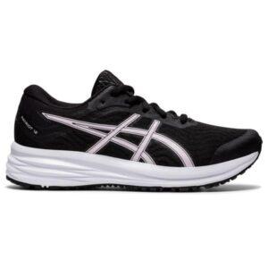 Asics Patriot 12 GS - Kids Running Shoes - Black/Pink Salt