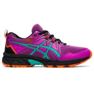 Asics Gel-Venture 8 GS - Kids Trail Running Shoes - Digital Grape/Baltic Jewel