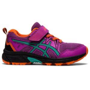 Asics Gel Venture 8 PS - Kids Trail Running Shoes - Digital Grape/Baltic Jewel