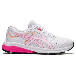 Asics GT-1000 SL GS - Kids Cross Training Shoes - White/Hot Pink