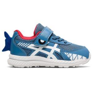 Asics Contend 7 TS Shark - Toddler Running Shoes - Grey Floss/White
