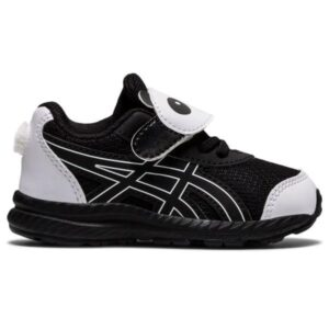 Asics Contend 7 TS Panda - Toddler Running Shoes - Black/White