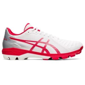 Asics Lethal Ultimate FF - Mens Football Boots - White/Classic Red