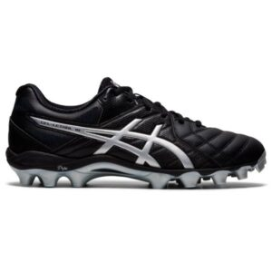 Asics Gel Lethal 18 - Mens Football Boots - Black/Pure Silver