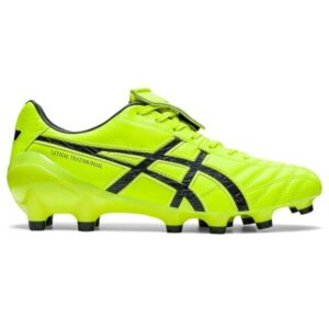 Asics Lethal Testimonial 4 IT - Mens Football Boots - Safety Yellow/Carrier Grey