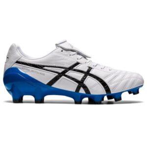 Asics Lethal Testimonial 4 IT - Mens Football Boots - White/Black/Blue