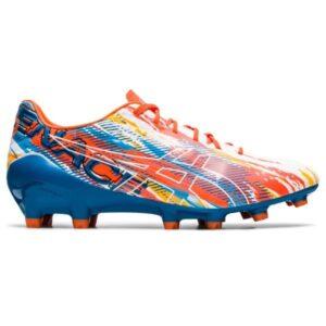 Asics Menace 4 - Mens Football Boots - White/Reborn Blue