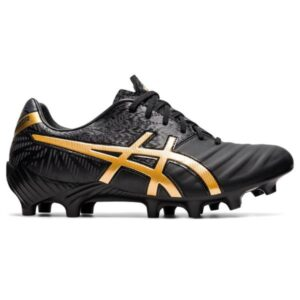 Asics Lethal Tigreor IT FF 2 - Mens Football Boots - Black/Pure Gold