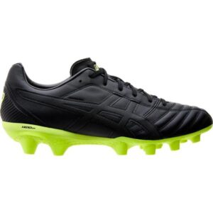 Asics Lethal Flash IT - Mens Football Boots - Black/Safety Yellow