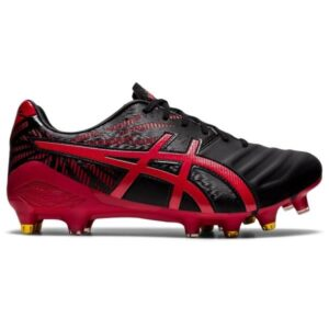 Asics Lethal Tigreor FF Hybrid - Mens Football Boots - Black/Classic Red