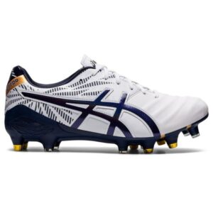 Asics Lethal Tigreor FF Hybrid - Mens Football Boots - White/Peacoat