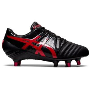 Asics Gel-Lethal Tight Five - Mens Rugby Shoes - Black/Classic Red
