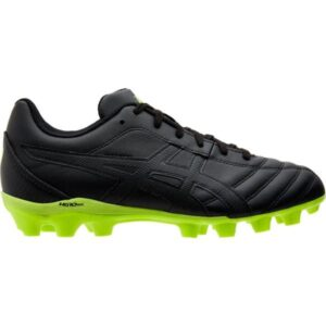 Asics Lethal Flash IT GS - Kids Football Boots - Black/Safety Yellow