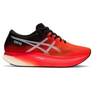 Asics MetaSpeed Sky - Mens Road Racing Shoes - Sunrise Red/White
