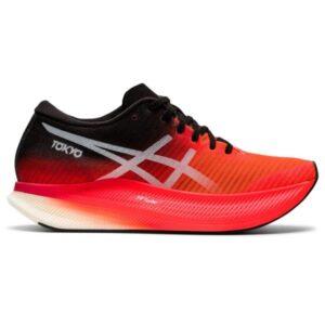 Asics MetaSpeed Sky - Womens Road Racing Shoes - Sunrise Red/White