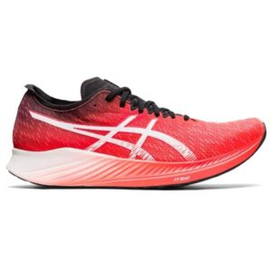 Asics Magic Speed - Mens Road Racing Shoes - Sunrise Red/White