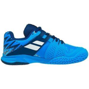 Babolat Propulse All Court Kids Tennis Shoes - Drive Blue